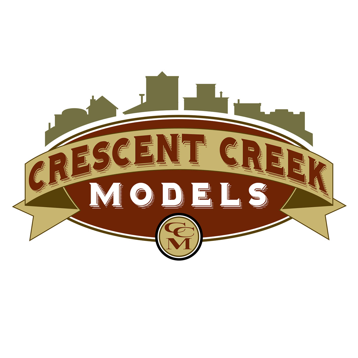 Crescent Creek Models Logo