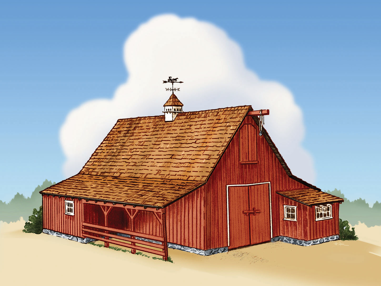 Disney Barn