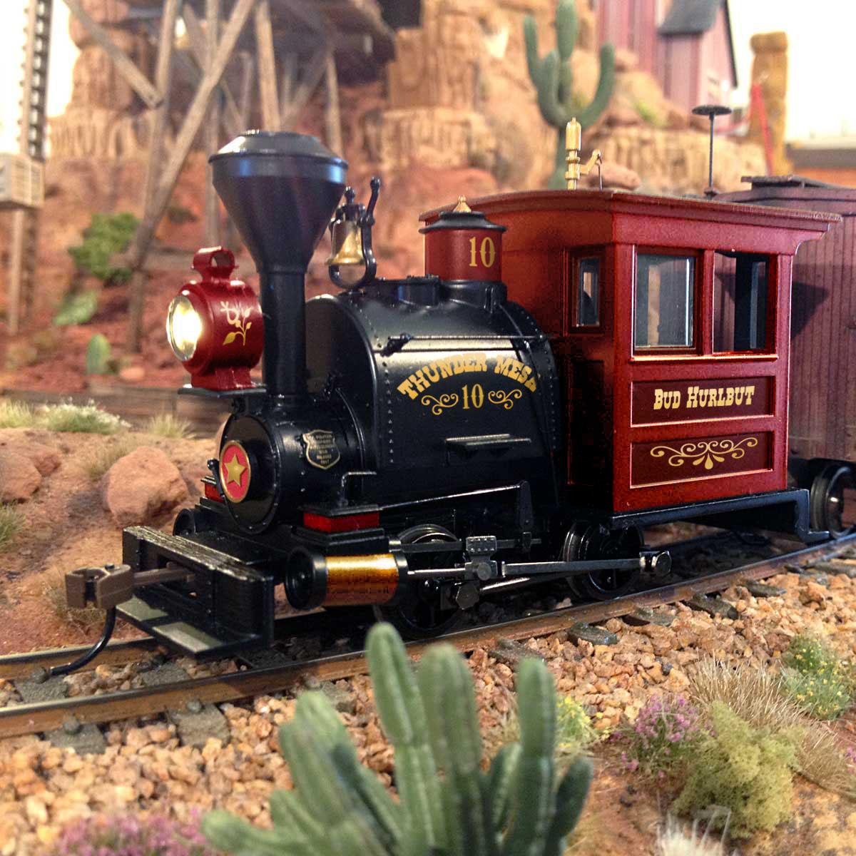 On30 locomotive Thunder Mesa