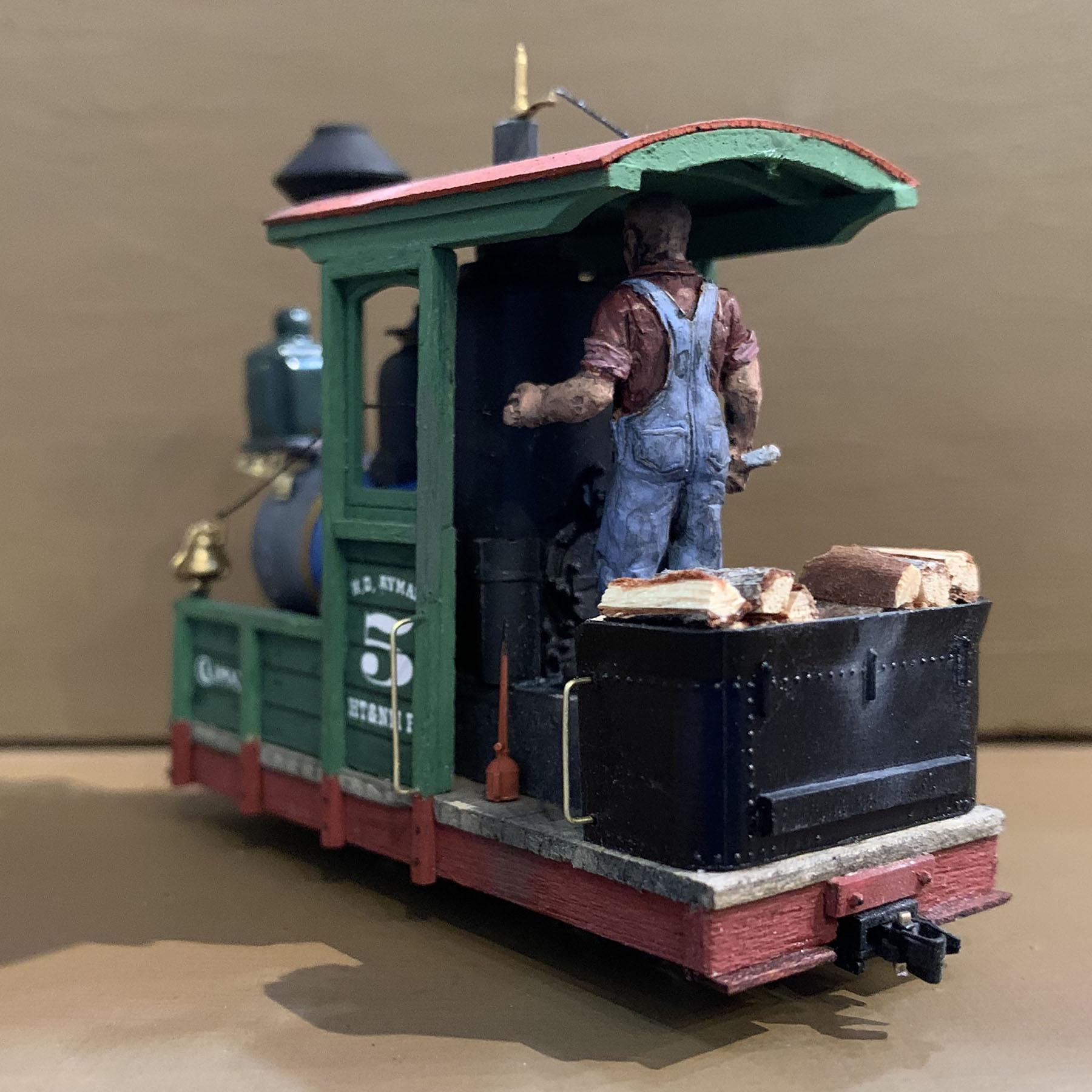 On18 locomotive