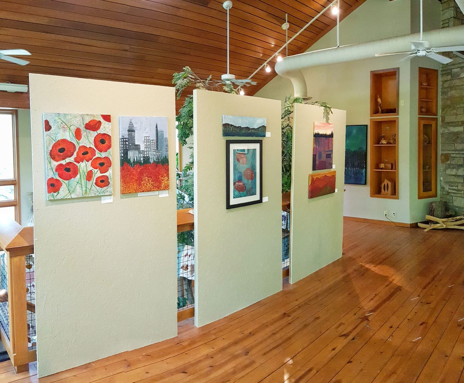 Nature Center art exhibition
