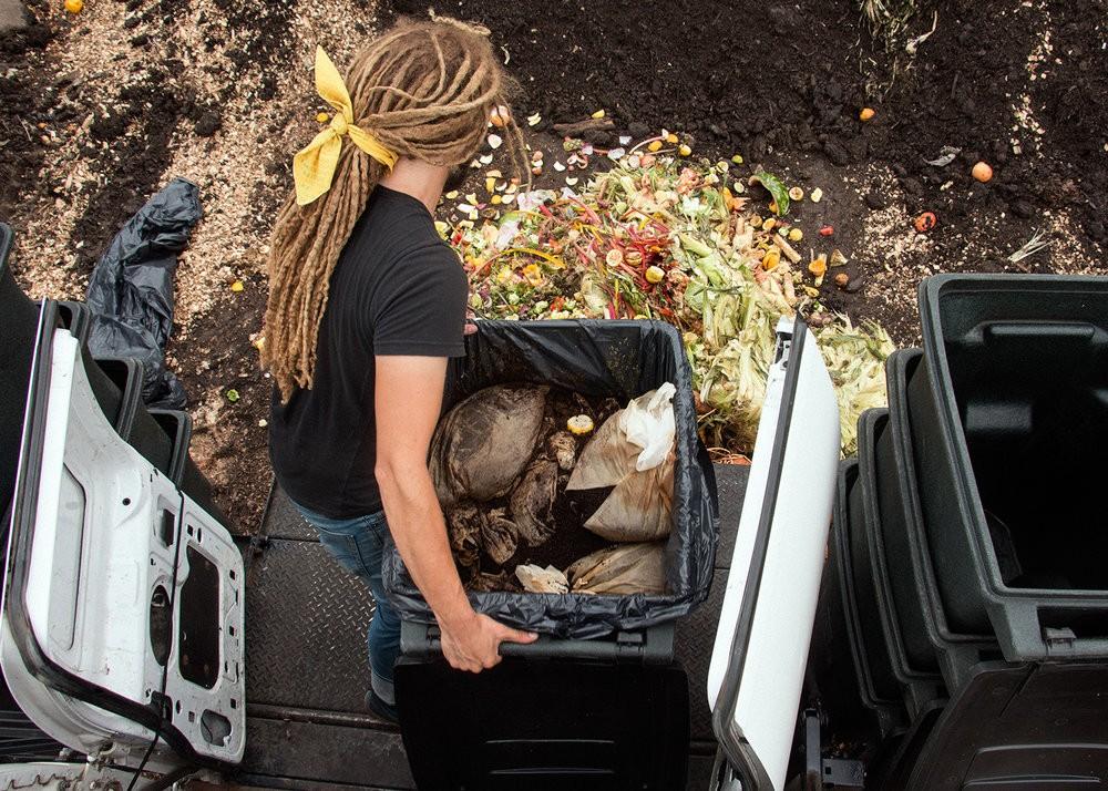 Rust Belt Riders composting