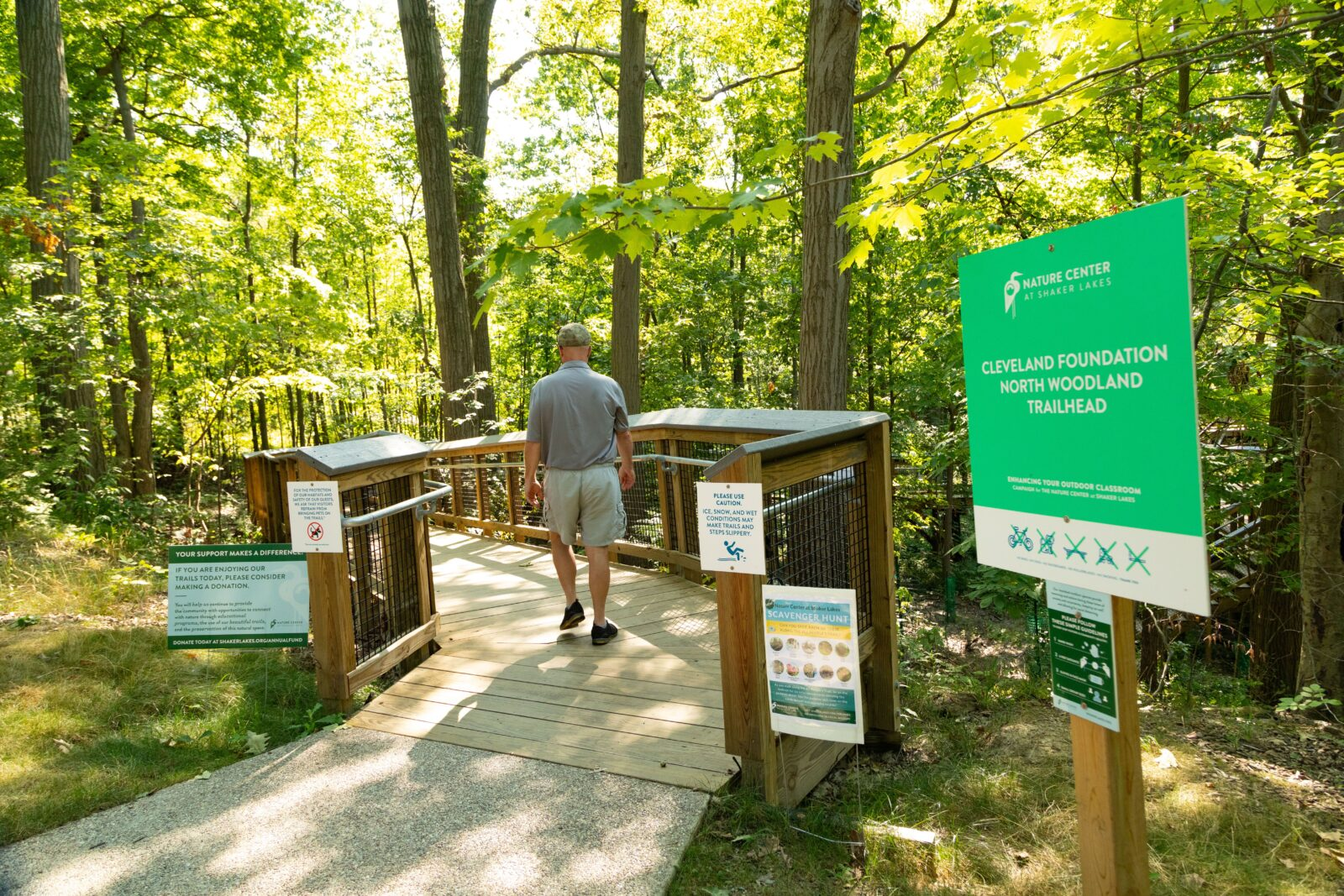 Nature Center at Shaker Lakes All People's Trail