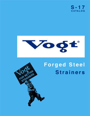 Vogt Forged Steel Strainers