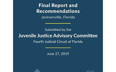 Juvenile Justice Advisory Committee Presents Recommendations
