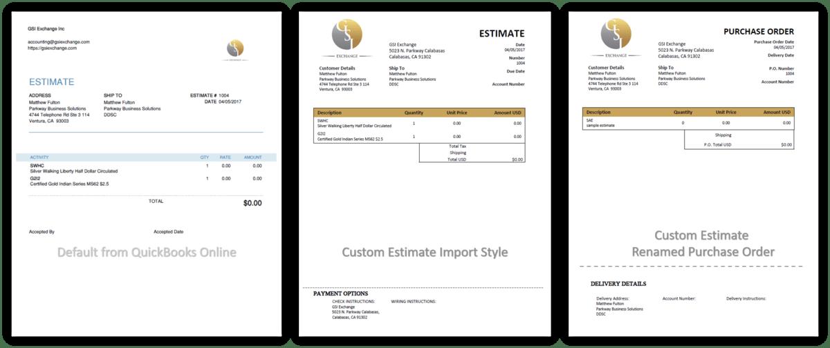 GSI QuickBooks Online Invoices sm