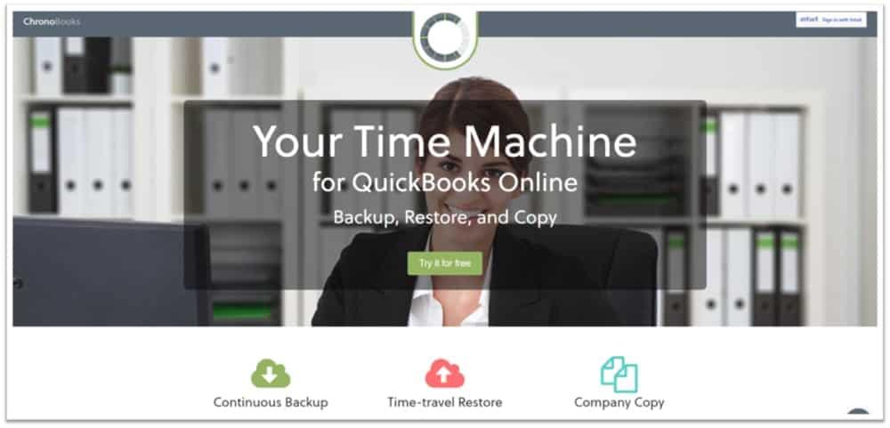 Chronobooks QuickBooks Online Backup