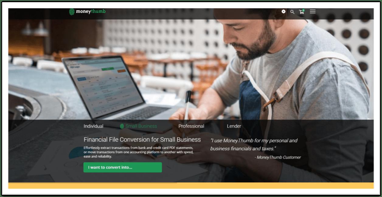 MoneyThumb Application