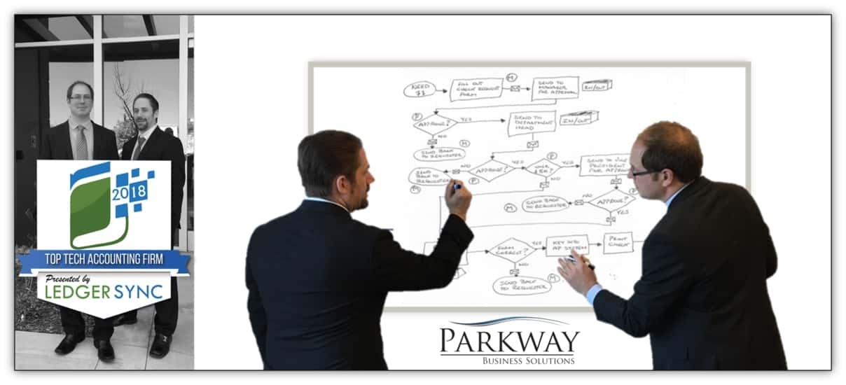 2018 Top Tech Accounting Firm Awarded to Parkway Business Solutons