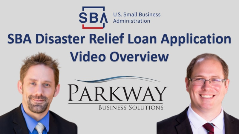 SBA Disaster Relief Loan Application Overview