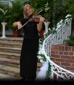 Beverly Chapman Strolling Viloin Jacksonville, Florida Weddings