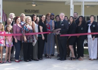 Ribbon Cutting with The Mayor and Chmaber of Commerce