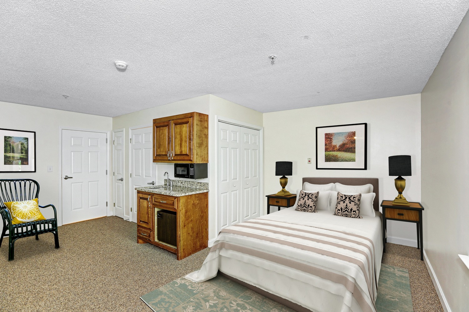 Mountain Brook - resident bedroom