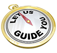 Let Us Guide You Compass