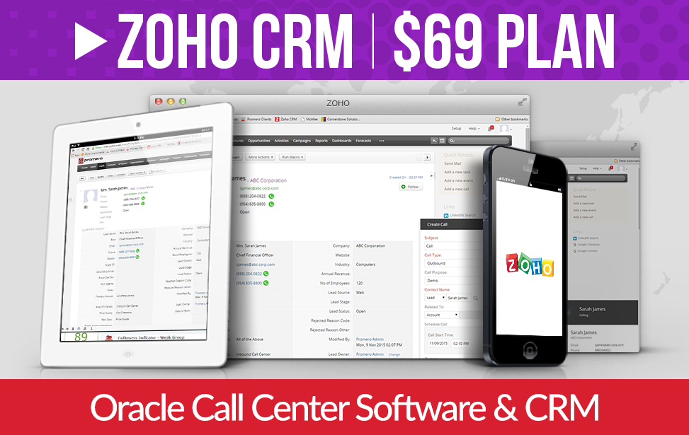 Call Center Software & CRM
