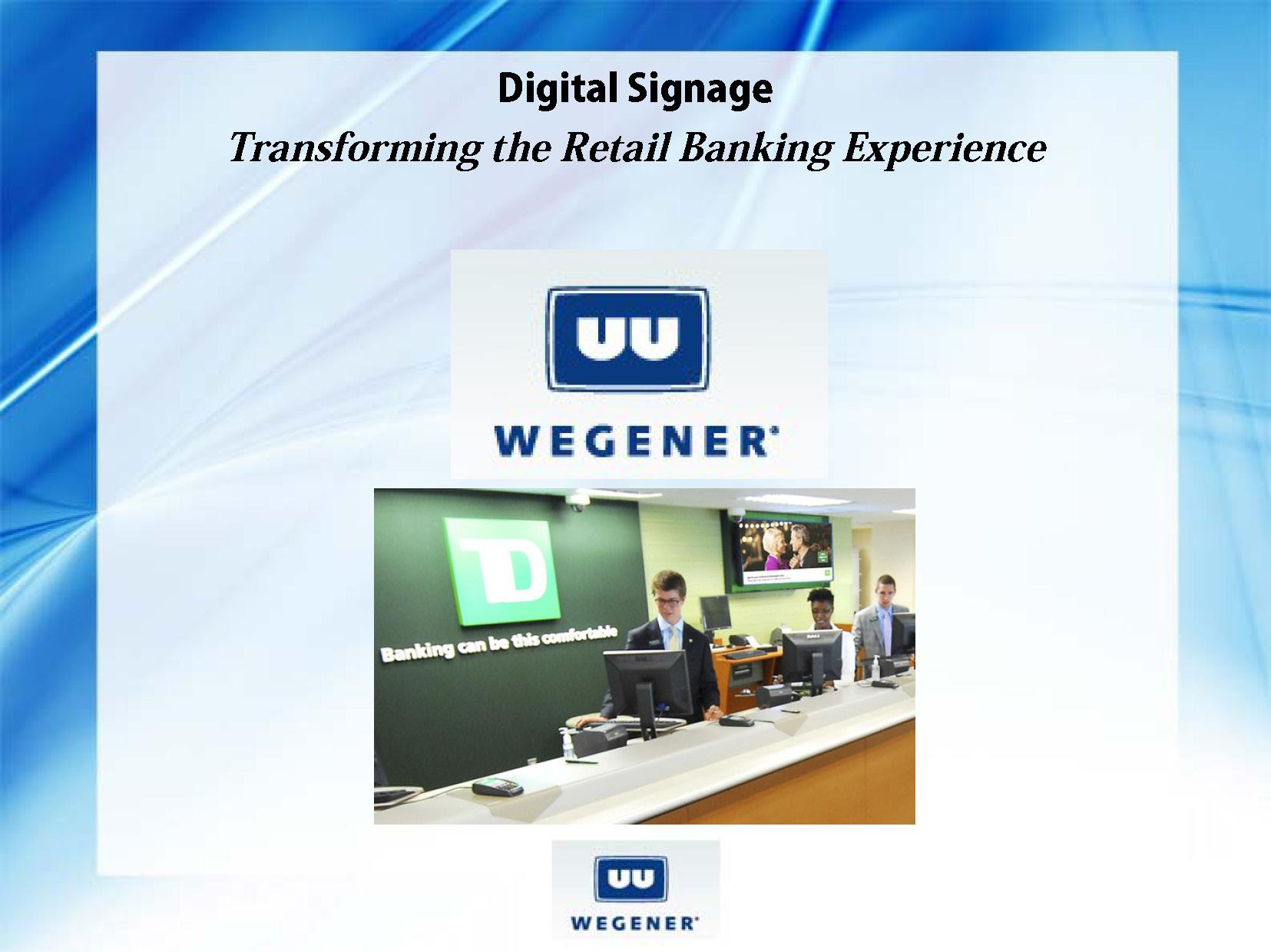Wegner Digital Signage