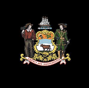 State of DE logo