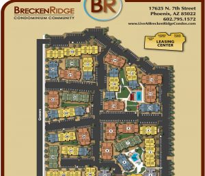 BreckenRidge Condos Map