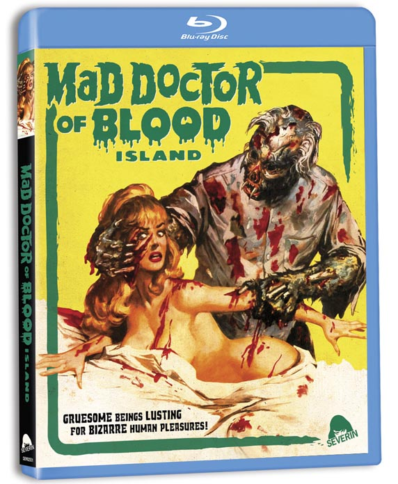 Mad Doctor of Blood Island blu ray