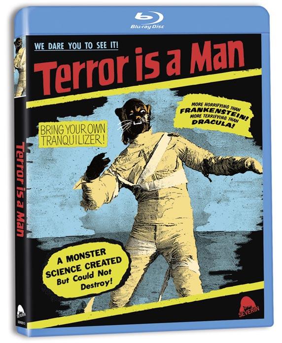 TERROR IS A MAN BLU RAY