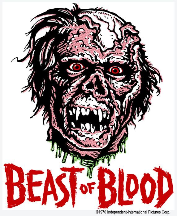 Beast of Blood Sticker & T-Shirt Transfer