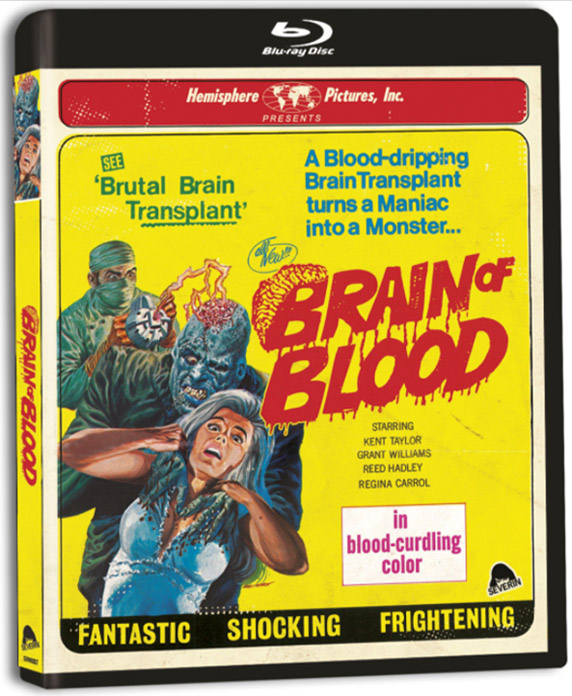 Brain of Blood Blu Ray