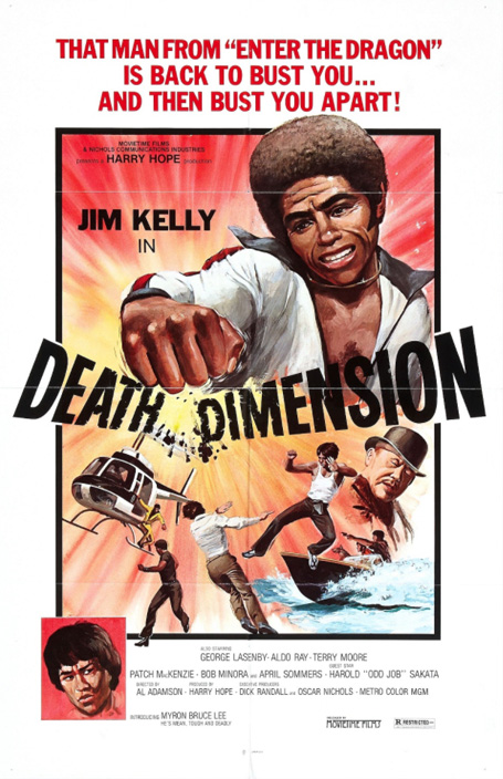 DEATH DIMENSION POSTER