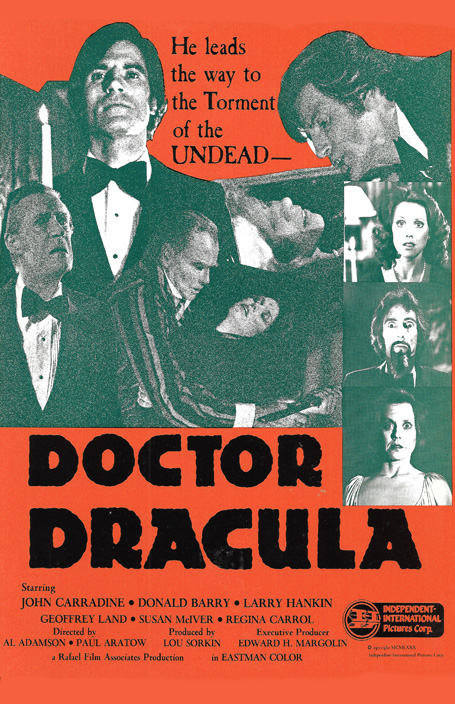 Doctor Dracula poster