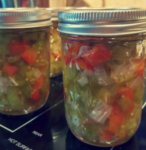 canning green tomato relish