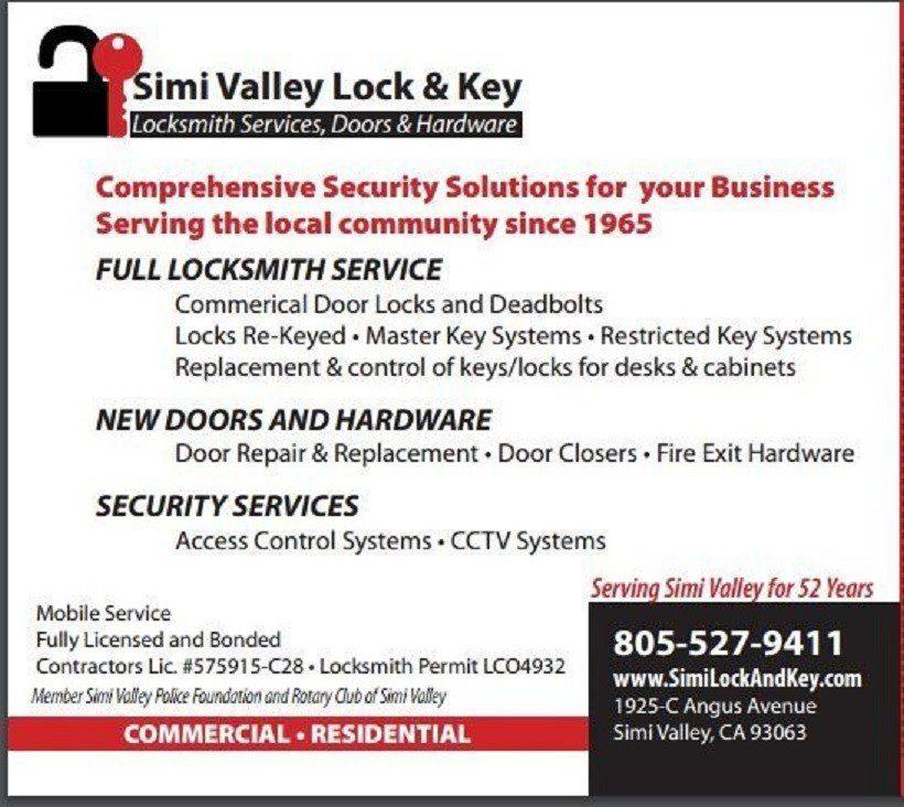 simi valley lock & key