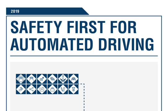 2019 Safety first for automated driving(156頁)