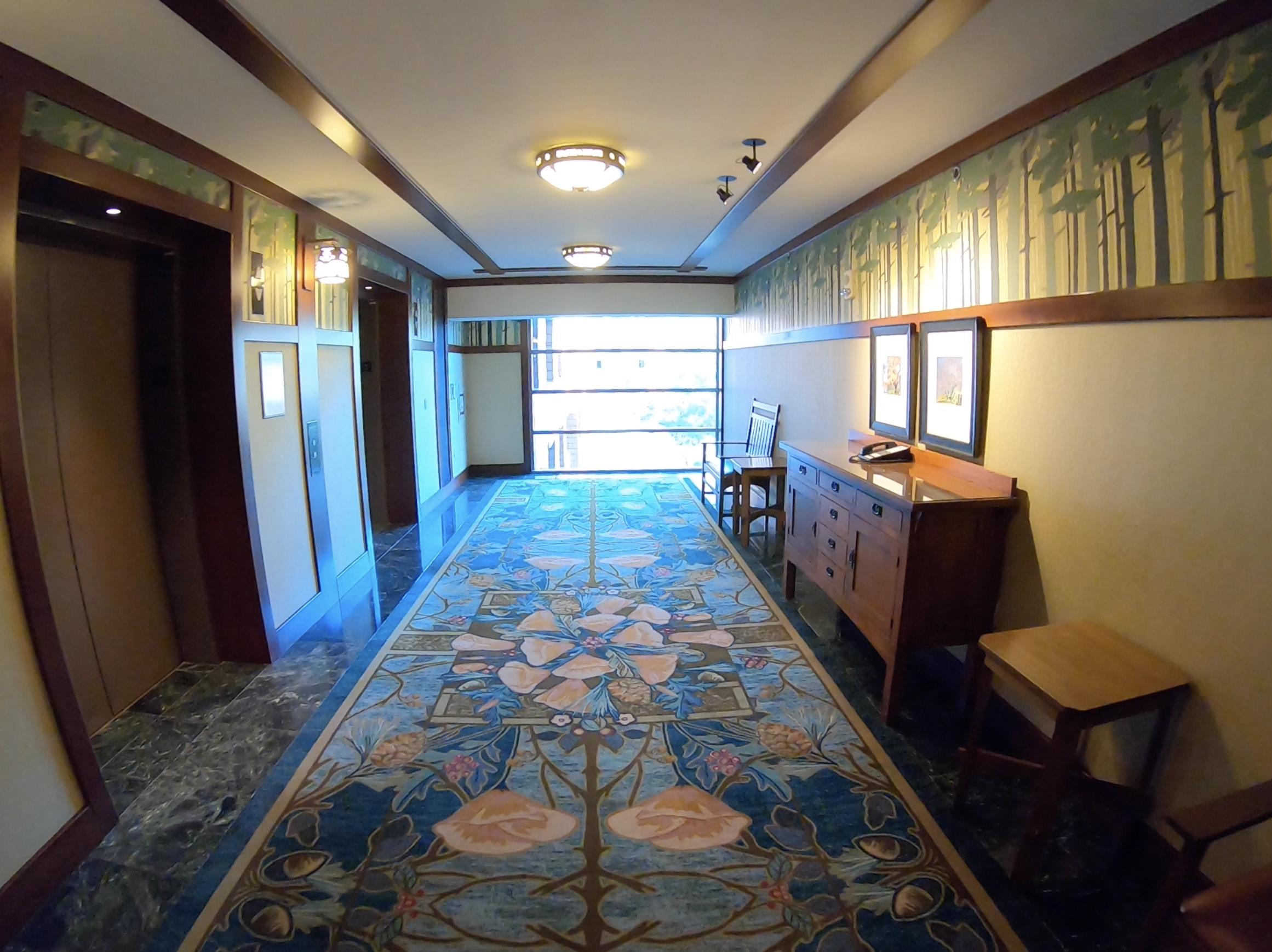 GrandCalifornia hallway