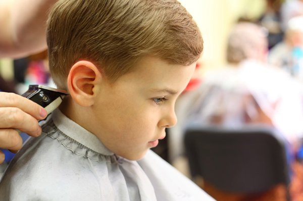 kids haircut