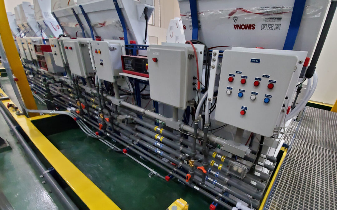 Metal Finishing Line