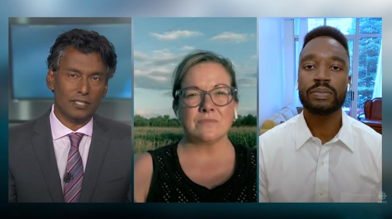 Jenni Byrne on CBC