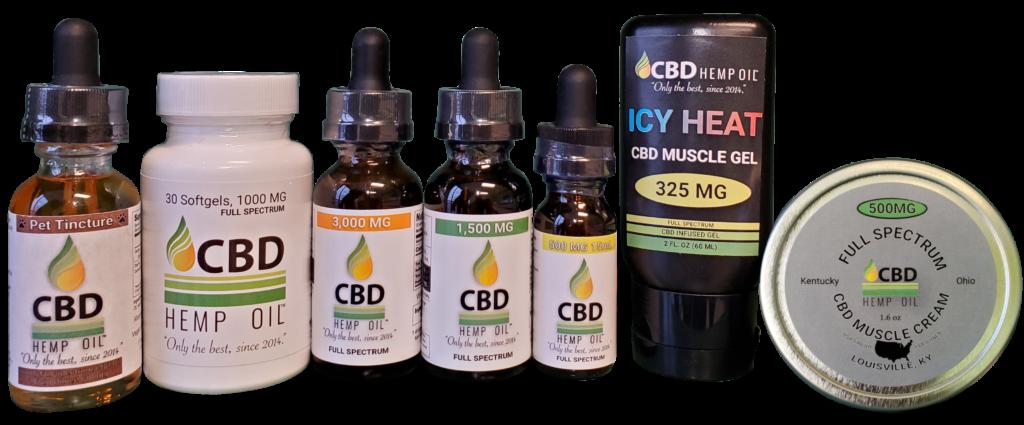 CBD Oil of Dayton CBD oils, topicals, capsules, and pet oil