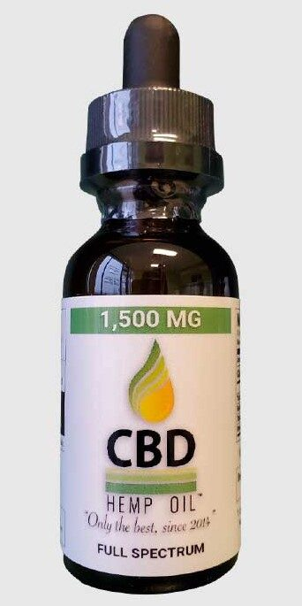 CBD Oil of Dayton 1500 mg