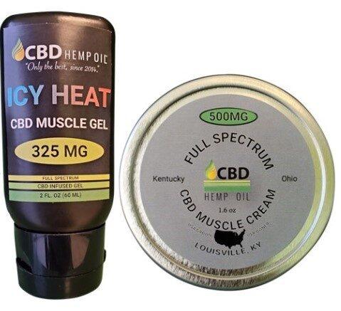 CBD Oil of Dayton topicals