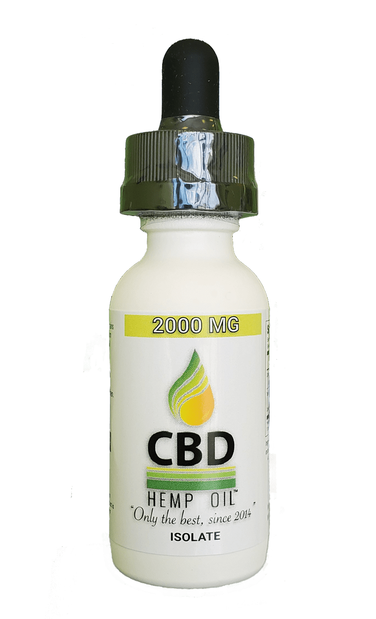 CBD Oil of Dayton Isolate 2000 mg