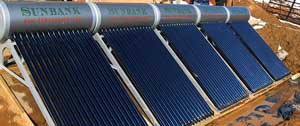 installing a solar water heating system in parallel to heat domestic hot water and radiant heating for a large home
