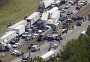 major auto accident in Tennessee