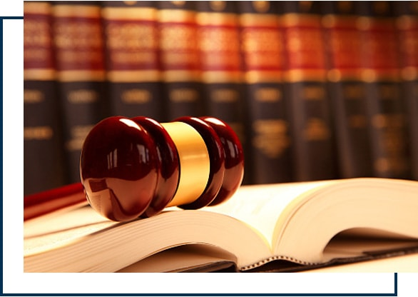 Gavel & Legal Books about What To Expect in A personal Injury Case