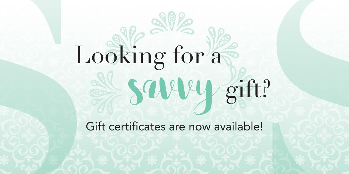 Looking for a savvy gift at Sugar Savvy