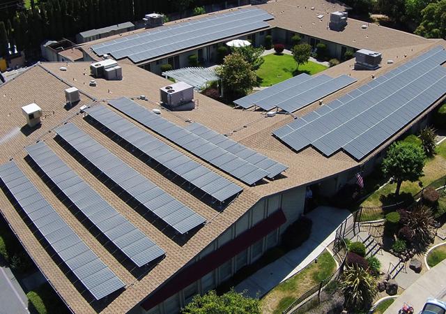 ES Electric & Solar Commercial Solar Installation 10