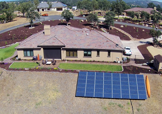 ES Electric & Solar Residential Solar Installation 14