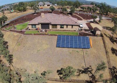 12.48kW ground mount solar Loomis, CA