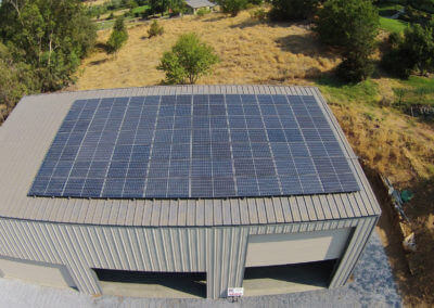 15.6Kw commercial warehouse Loomis, CA