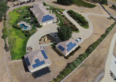 15kW roof mount solar Loomis, CA