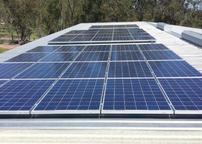 16kW solar on warehouse Sheridan, CA