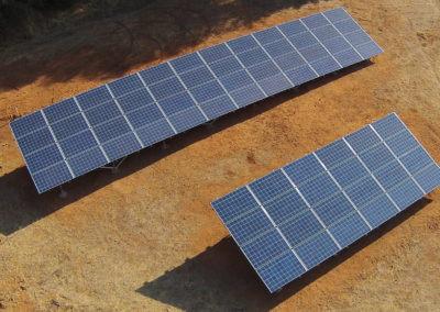 18.7kW ground mount solar Auburn, CA